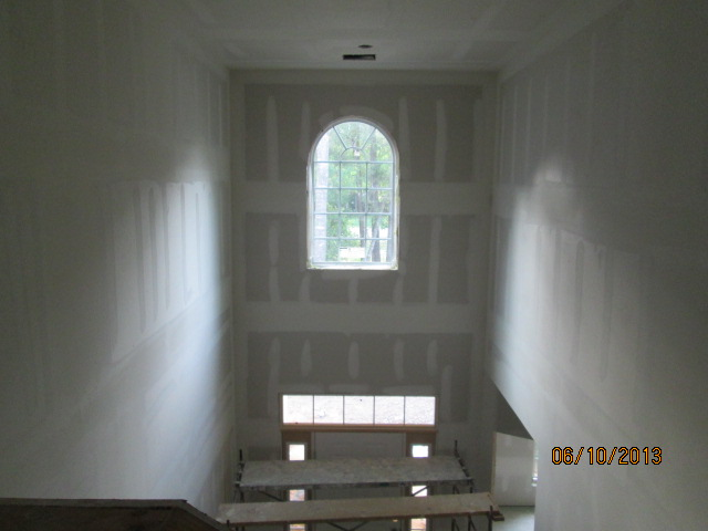 Kennsington Two Story Foyer Drywall