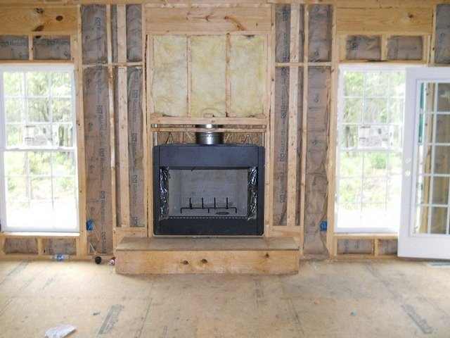 Framed Fireplace