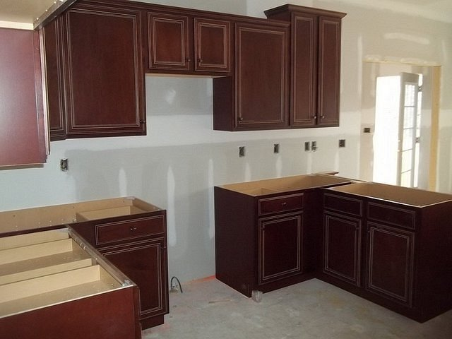 Kitchen Cabinets Installation 58