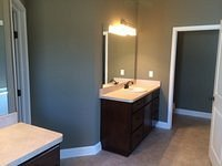 Master Bathroom Finish