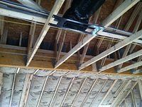 Great room ceiling insulation 2