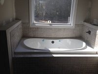 Jetted Tub with Tile Surround