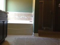 Tile Floor & Tub Surround