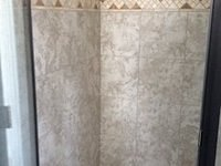Tile Shower & Decorative Boarder