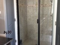 Tile Shower with Door