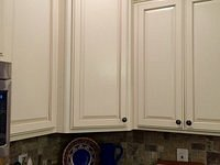 Wildwood painted and glazed cabinets