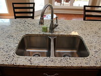 Kitchen sink--Granite undermount