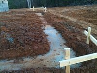 Footing Poured