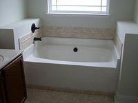 Tub with Tile Surround