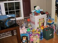 Toys Collected for Donation