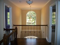Second Story View of Two Story Foyer