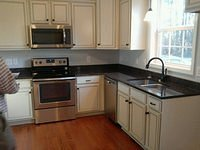 Riverbend A Finished Kitchen