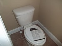 Bell III D Bathroom Toilet Installed 58