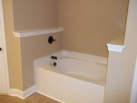 Bell III D Finished Garden Tub 58