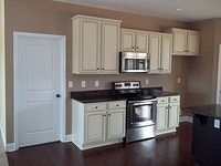 Bell III D Finished Kitchen Cabinets & Appliances 58