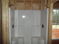 Bell III D Plumbing Rough Shower 58