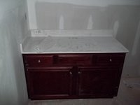 Murray A Bathroom Cabinet & Counter 58