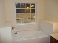 Stonecrest B Finished Master Bath Tub 58