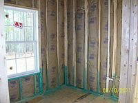 Insulation and Plumbing
