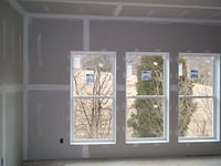 Drywall and Window sills Installation