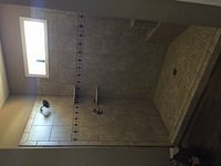 Dowdy Job # 615015 - Tiled Shower (Done)