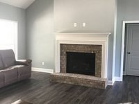 Fireplace view in Family Room