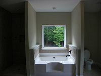 Master Bath Tub with Custom Tile