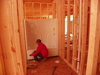 Shower Tub Combo Installation Framing