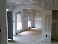 Waterstone drywall arch