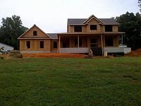 Front Exterior Framing