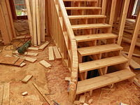 Fluted Staircase Framing